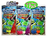 Toys : Zuru Bunch O Balloons Instant 100 Self-Sealing Water Balloons Complete Gift Set Bundle, 3 Piece (300 Balloons Total)
