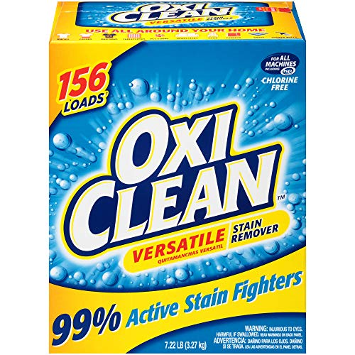 OxiClean Versatile Stain Remover Powder, 7.22 lbs. (Get Coffee Stain Out Of White Shirt)
