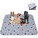 Paw Jamboree Reusable Washable Pee Pads for Dogs (2 Pack) Washable Puppy Pads Dog Pee Pad
