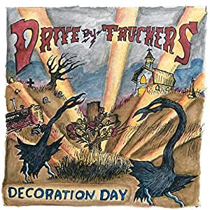 Decoration Day Drive-By Truckers - Decoration Day (CLEAR WITH GOLD SPLATTER VINYL, LIMITED EDITION)