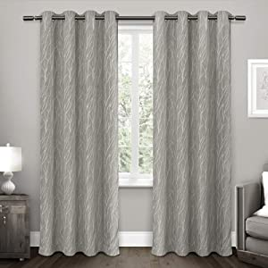 Exclusive Home Curtains Forest Hill Panel Pair, 96