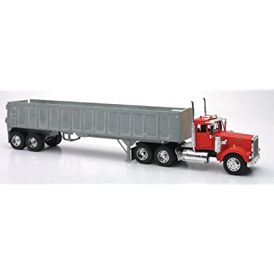 New Ray Die-Cast Truck Replica - Kenworth W900 Frameless Dump Truck, 1: 32 Scale, Model# 13733: New Ray: Toys & Games