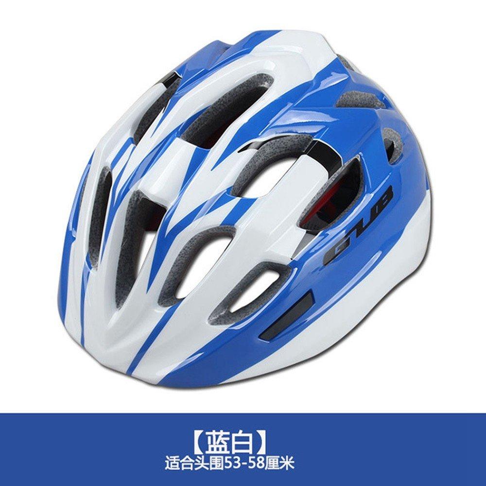 LOLIVEVE Schutzausrüstung Roller Skating Mountainbike Helm Fahrrad Schutzhelm Kind Helm Outdoor-Sport 53-58Cm