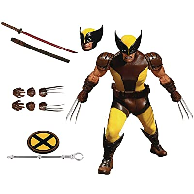 Mezco Toys One: 12 Collective: Marvel Wolverine Action Figure: Toys & Games