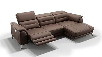 Design Leder Eckcouch Ecksofa Sofa Couchgarnitur Wohnlandschaft