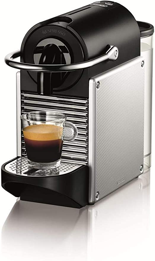 Nespresso DeLonghi Pixie EN125S - Cafetera monodosis de cápsulas ...