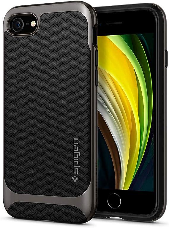 Amazon Com Spigen Neo Hybrid Designed For Apple Iphone Se 2020 Case Designed For Iphone 8 Case 2017 Designed For Iphone 7 Case 2016 Gunmetal