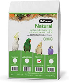 product image for ZuPreem AvianMaintenance Natural Bird Diet for Cockatiels