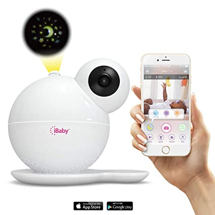 iBaby M6T HD Wi-Fi Digital Baby Video Camera Monitor with Temperature and Humidi