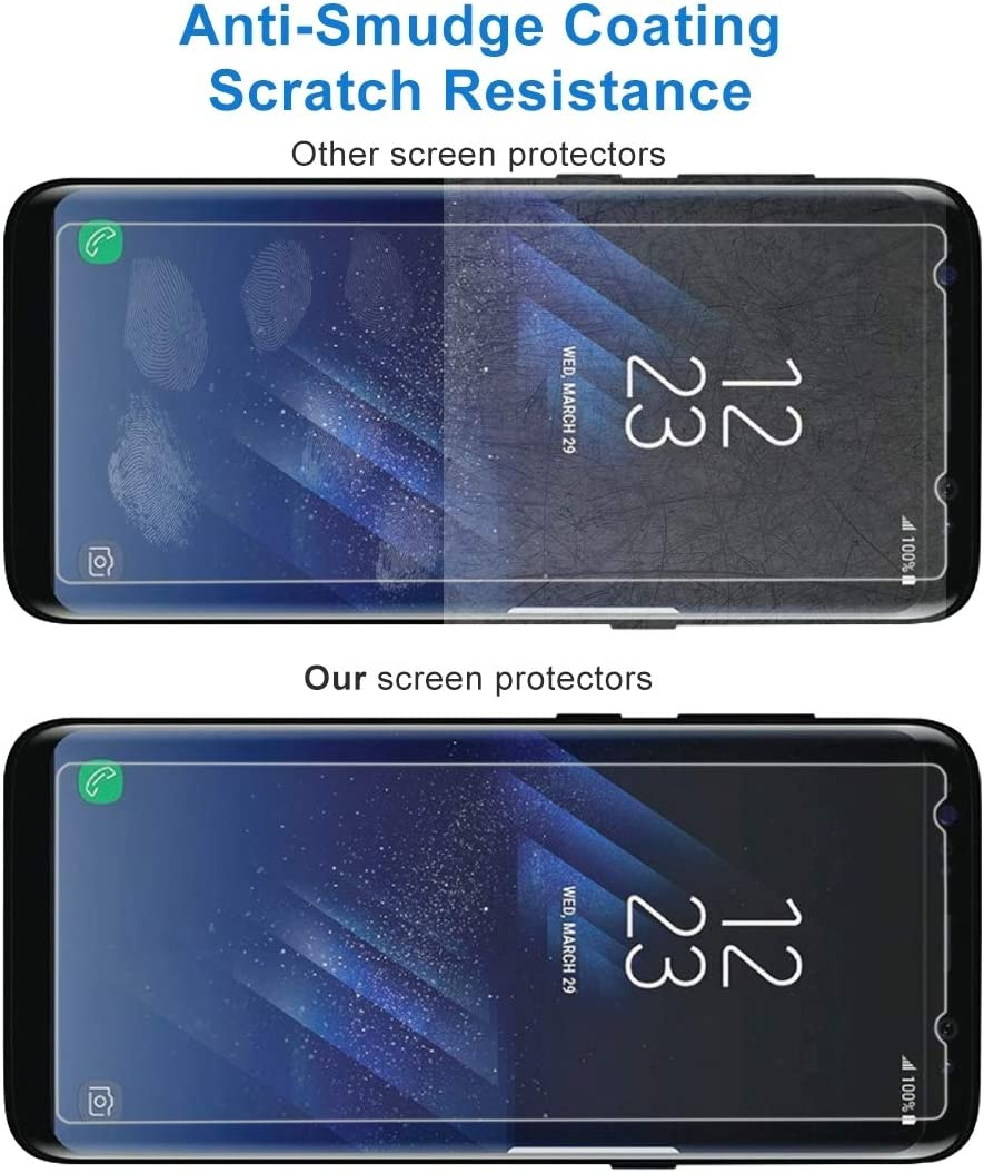 // G9550 0.26mm 9H Surface Hardness Explosion-proof Non-full Screen Tempered Glass Screen Film GzPuluz Glass Protector Film 50 PCS for Galaxy S8