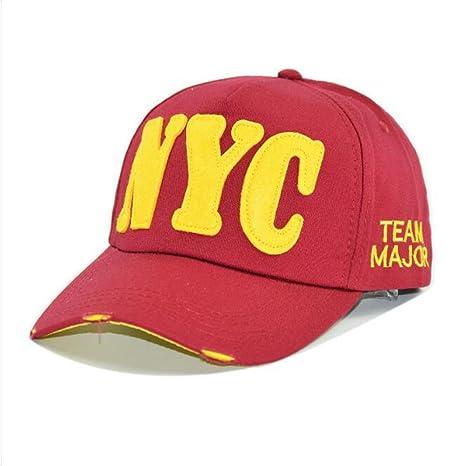 DE-HXP-HUT Moda Unisex Mujeres Hombres hysterese Sombreros Verano Carta  Palabras Béisbol gorros 08448ed37c7