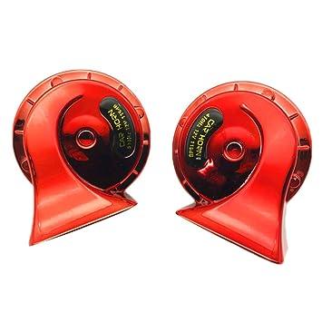 Homyl 2pcs 12V 115dB 510Hz Super Loud Auto Dual Snail Horn ...