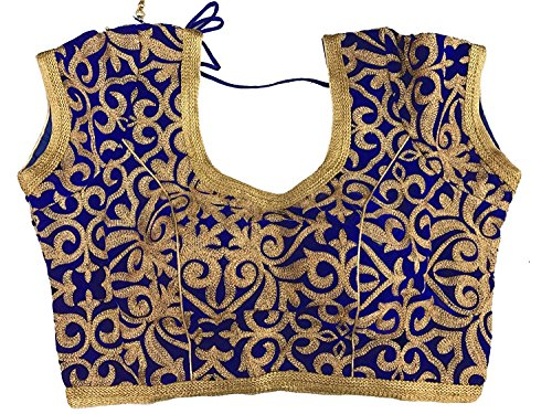 Charu Boutique Designer Readymade Blue Stitched Velvet In...