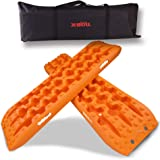 X-Bull Orange Recovery Tracks 1 Pairs Traction Boards Sand Mud Snow Track Tyre Ladder 4WD 4X4 Gen 3.0 Carry Bag
