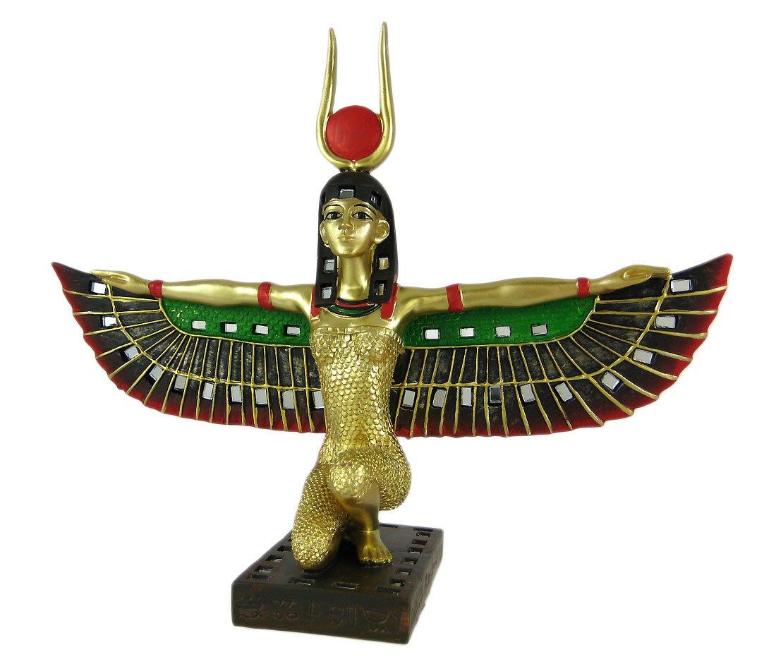 Private Label Winged Isis Egyptian Goddess Statue Deity Mythology