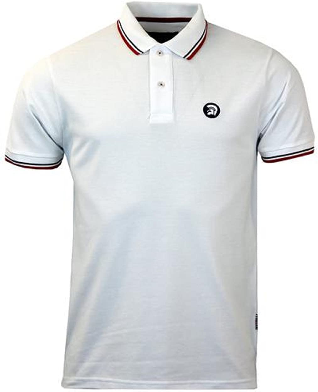 Trojan Records - Polo - para Hombre Blanc - Blanc XL: Amazon.es ...