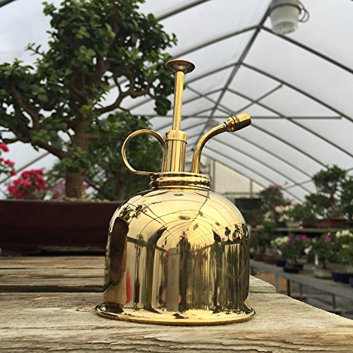 Haws Bonsai Tree Mister (Brass) from BonsaiOutlet by Tinyroots (Image #2)