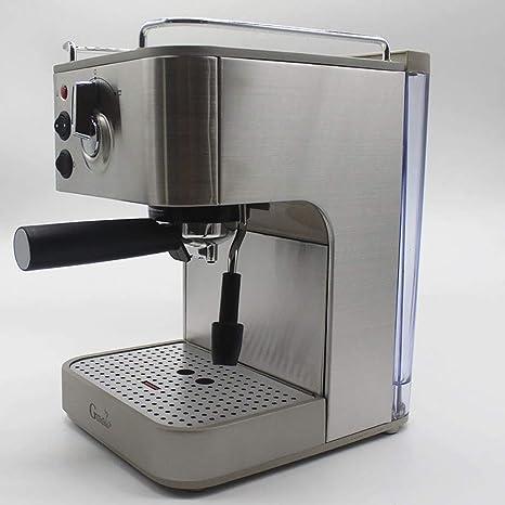 LHJCN Cafetera Semiautomática,19 Bares Presión, Thermoblock, 1.6L ...