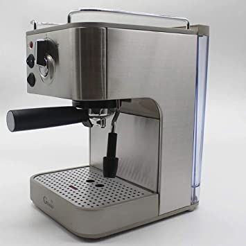 JHSHENGSHI Cafetera Semiautomática,19 Bares Presión, Thermoblock ...