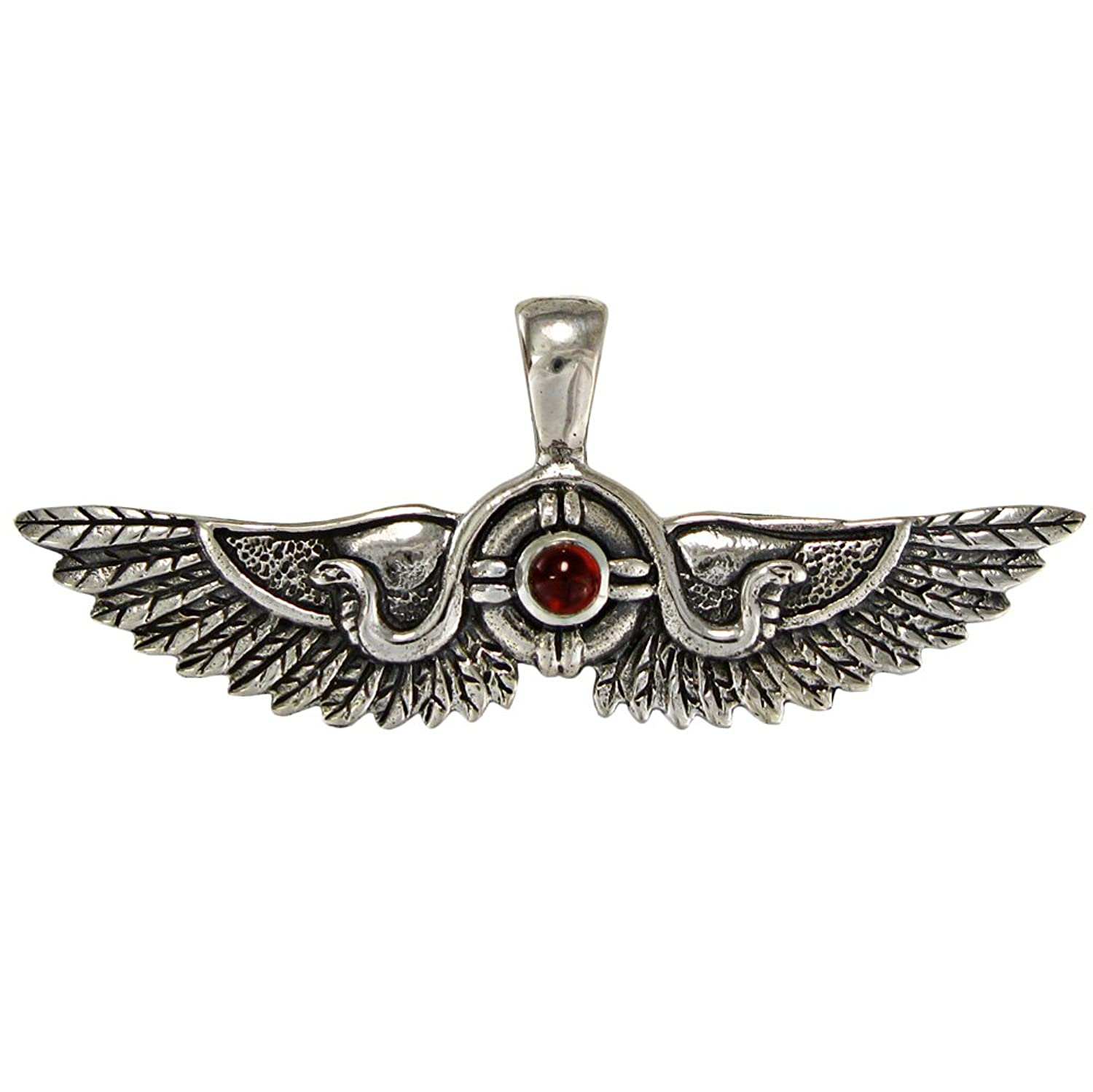 necklace o products w h silver i winged b s pendant sterling pave e n