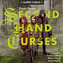 Second Hand Curses Audiobook by Drew Hayes Narrated by Scott Aiello, Marc Vietor, Tavia Gilbert
