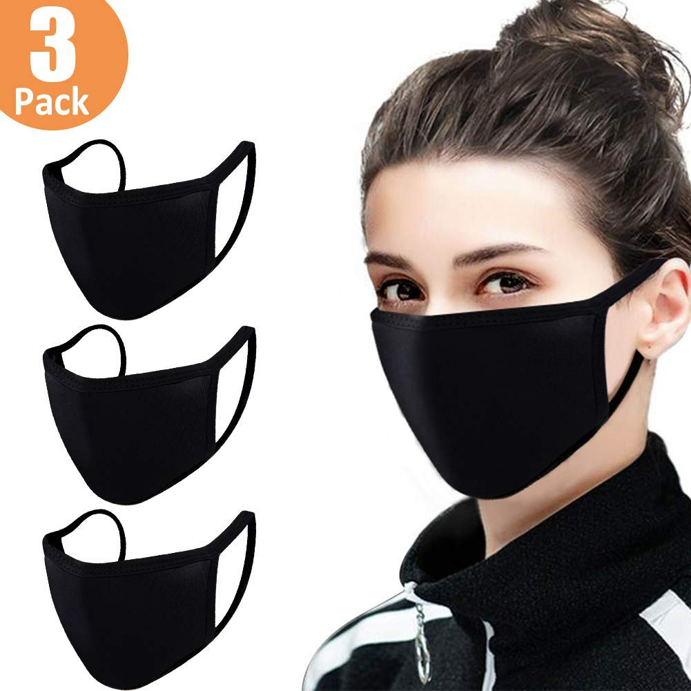 3 Pack Mouth Anti Dust Face Reusable Washable Face Mouth for Women Men