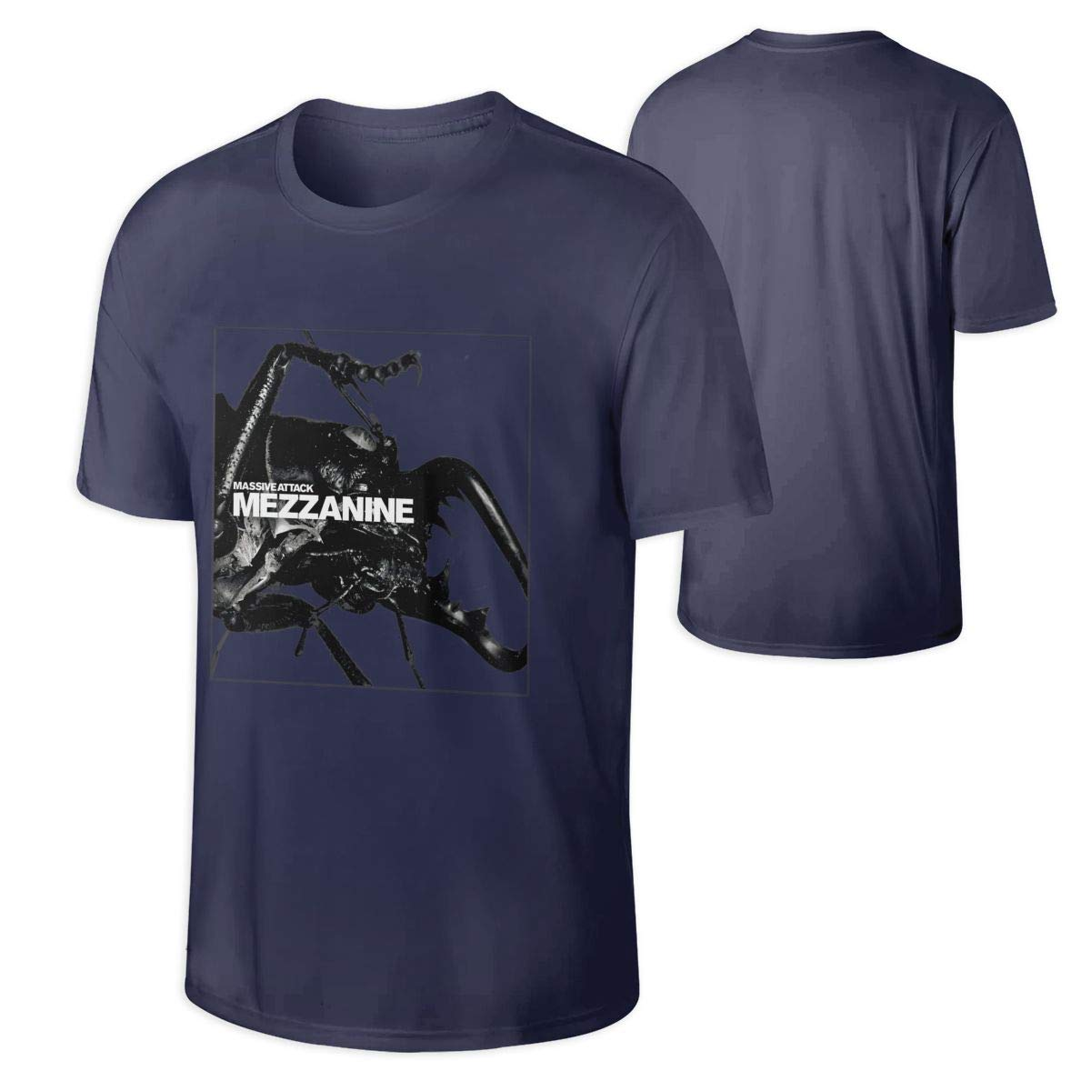Massive Attack Mezzanine Cool Tee Music Band Tshirt Black