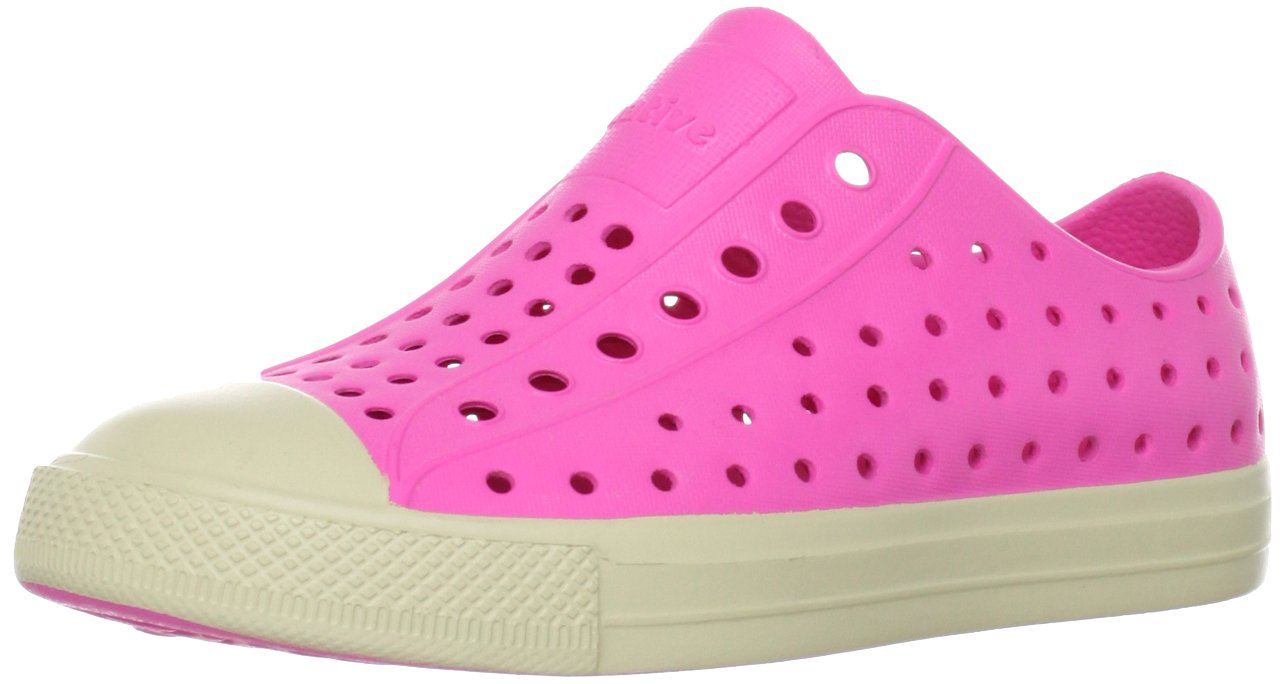 Native Jefferson Slip-On Sneaker,Hollywood Pink,10 M US Toddler by Native Shoes