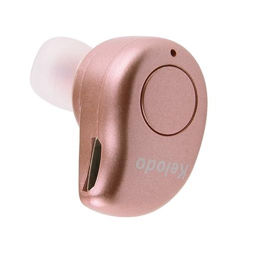 89 opinioni per Kelodo S530 Plus Auricolare Bluetooth con Microfono, Rosa