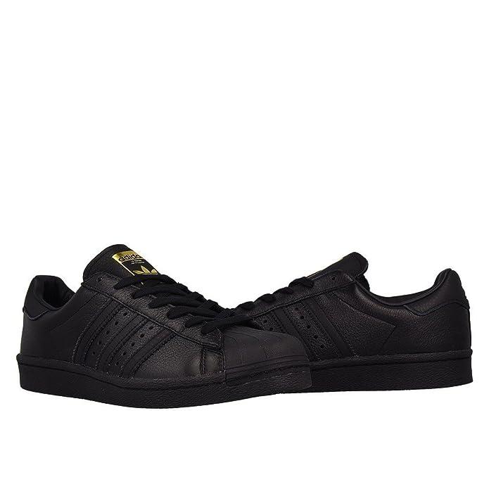 Adidas Superstar Black / Black / Gold (BB0186)