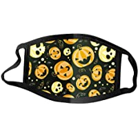 1PC Face Protection for Adult Resuable Washable Halloween Print Face Bandana Dustproof Windproof Breathable with Elastic…