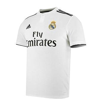 Adidas Camiseta - Personalizable - Primera Equipación Original Real Madrid 2018/2019: Amazon.es: Deportes y aire libre