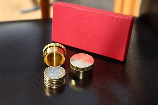 Dynamic Coins 1 Euro Zaubertrick Mit Münzen Amazonde Spielzeug