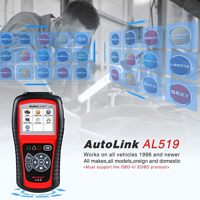 Autel AL519 is one of the best engine scanner