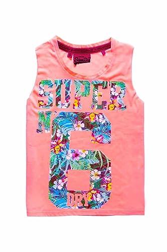 Superdry Camiseta Osaka 6 Coral