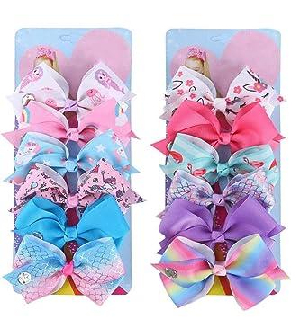 Ladies Girls 3 Piece Pink Hair Clips Barettes Christmas Gift Stocking Filler