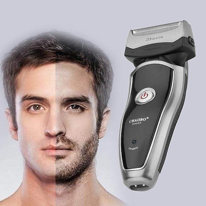 Poderosa máquina de afeitar eléctrica recargable inalámbrica ...