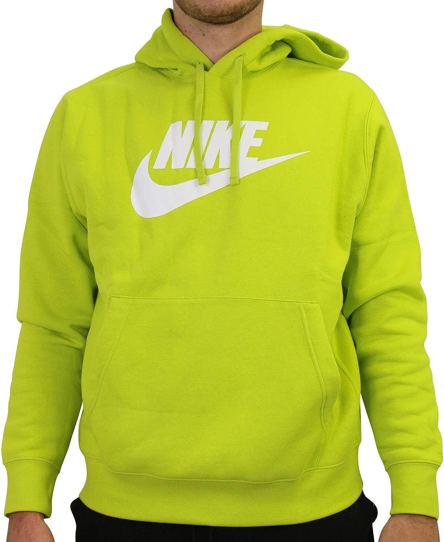 stomaco frammento Avviso  Nike Sportswear Club - Felpa in pile con cappuccio, da uomo, colore: Verde  Verde (Bright Cactus). M: Amazon.it: Abbigliamento