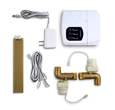 LeakSmart Automatic Leak Detection and Water Shut Off Kits- Protect Your Home from High Leak Risk Appliances Washing Machine