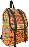GaanZaLive36 Hmong Hand Stitching Embroidered Laptop Computer Sling Crossbody Shoulder Messenger Travel Bags Tactical Pouches Sports Fan Picnic Kid Backpacks Sleeves Cell Phone (13L x 14H inch,Orange)