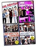one direction 2015 calendar - One Direction 4 Books Collection Pack Set (One Direction Ultimate Fan''s Book 100% Unofficial Includes 1d Wall Poster and 1d Wall Calendar, ONE Direction Poster Book, One Direction Fact File Sticker Book, One Direction: The Official Annual 2015)