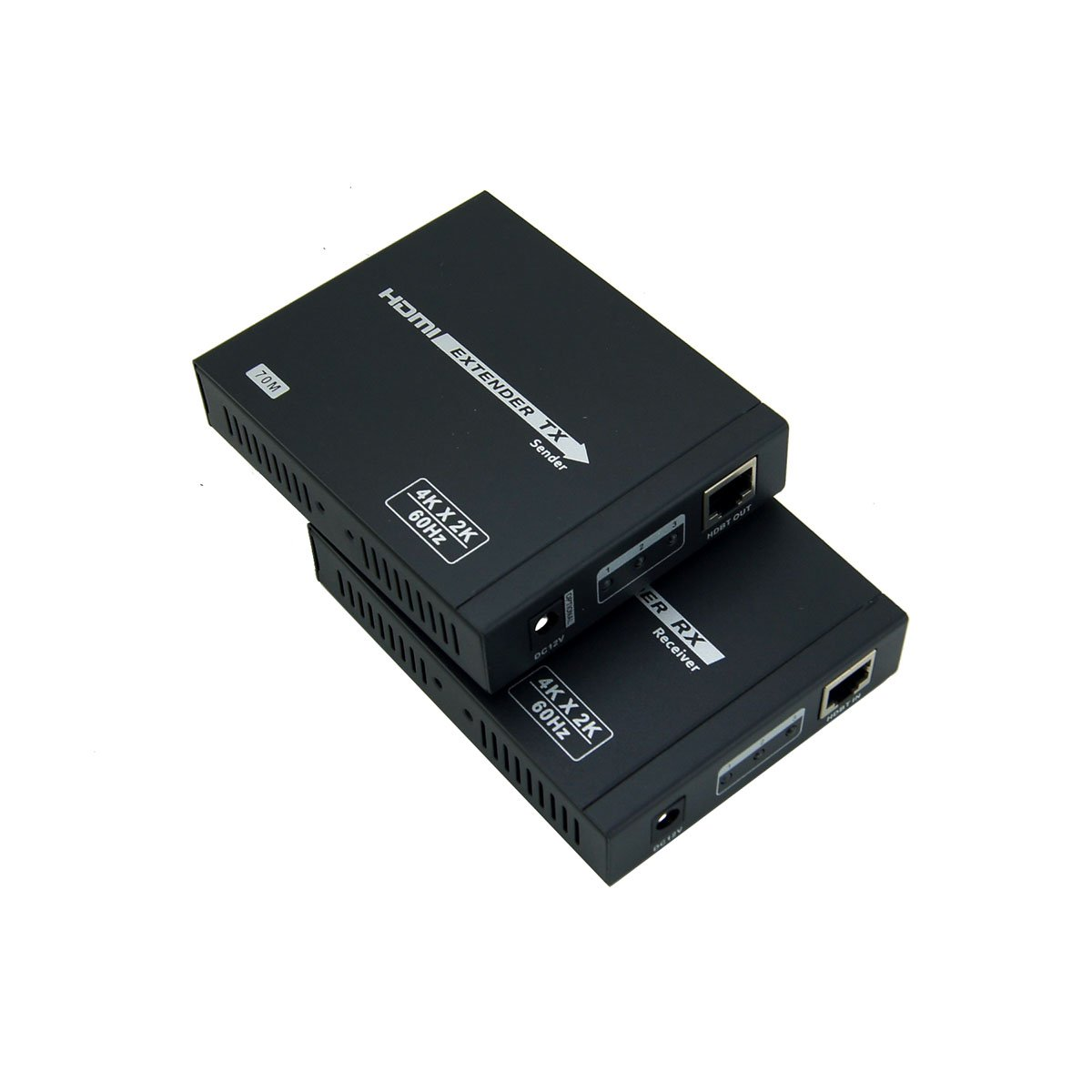 E-SDS HDBaseT2.0 HDMI Extender 4K@60HZ 4:4:4 Chroma, HDbaseT Extender over CAT6/6A/7 Cable up to 230ft Supports HDMI 2.0 18Gbps, HDR, HDCP 2.2, RS232, Bi-directional IR by E-SDS (Image #4)