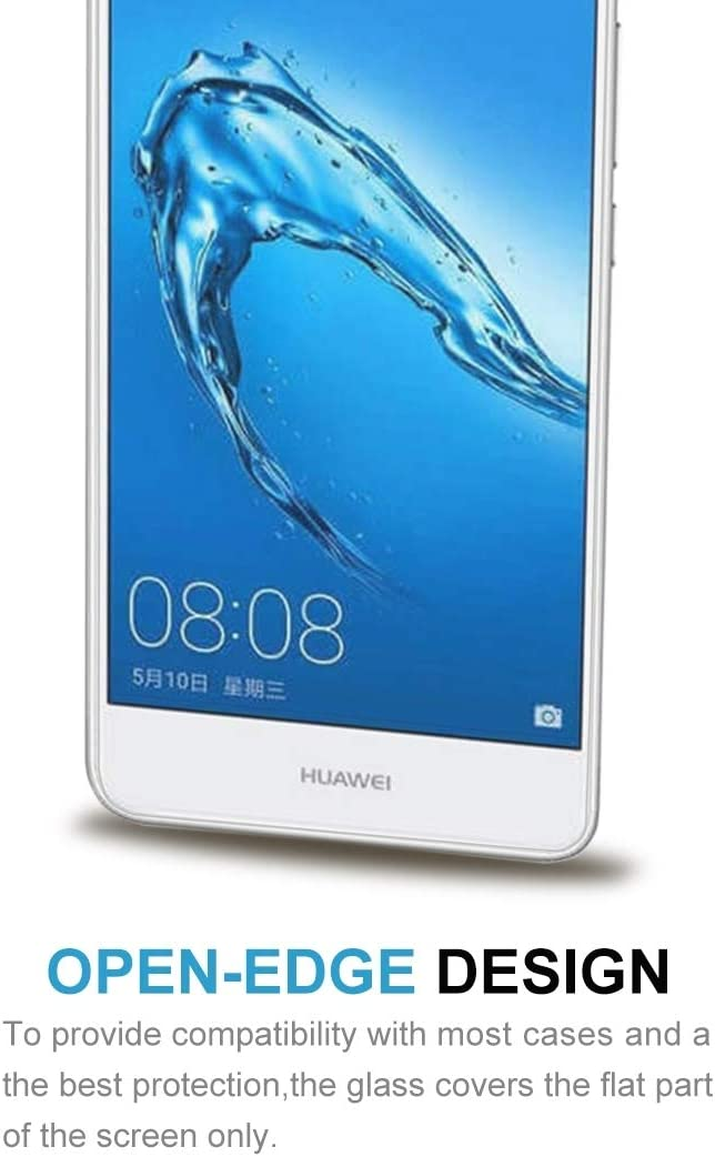 Wangl Mobile Phone Tempered Glass Film 100 PCS for Huawei Y7 0.3mm 9H Surface Hardness 2.5D Explosion-Proof Non-Full Screen Tempered Glass Screen Film Tempered Glass Film