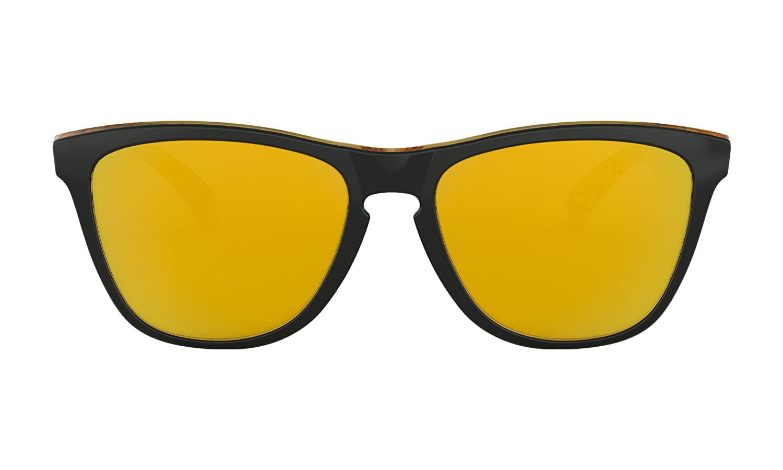 538734326f Oakley frogskins sunglasses la black with iridium lens sticker sports  outdoors jpg 1500x900 24k iridium lens