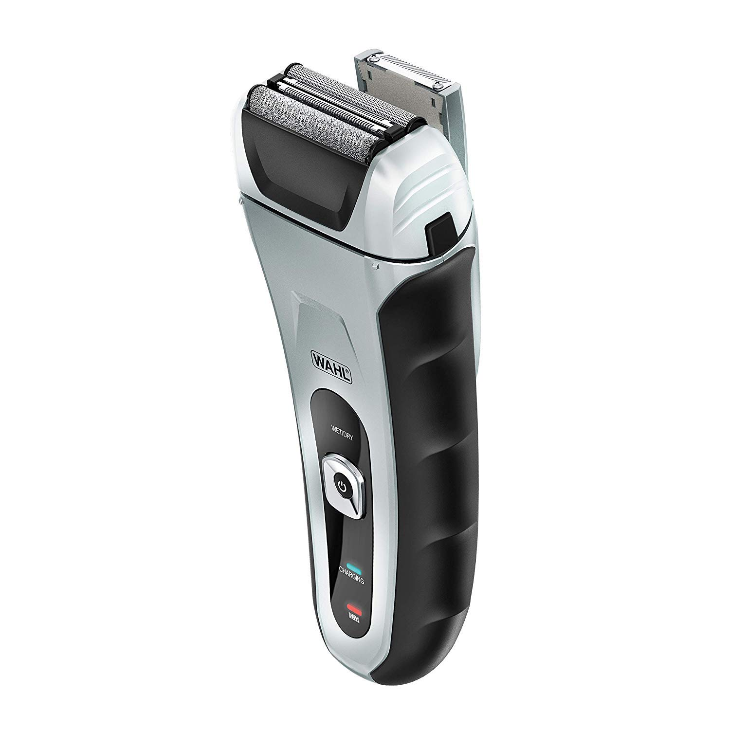 Wahl Speed Shave Rechargeable Wet Dry Waterproof Facial Hair Shaver with Speedflex Precision Foils 7069