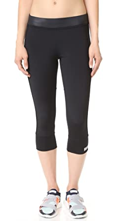 adidas by Stella McCartney Women's 3/4 Essential Leggings, Black, X-Small