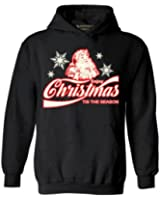Awkwardstyles Enjoy Christmas Tis The Season Hoodie Ugly Santa Sweatshirt