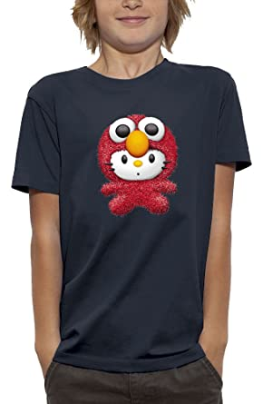 PIXEL EVOLUTION Camiseta 3D Elmo Hello Kitty de Realidad Aumentada Nino: Amazon.es: Ropa y accesorios