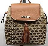 Michael Michael Kors Bedfod Drawstring backpack Tassle Brown Luggage