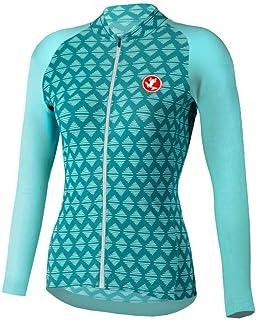 Uglyfrog Sports Wear Winter Fleece Damen Langarm Shirt Radtrikot Radsportbekleidung Outdoor Sports Slim Fit Full Zip Mantel